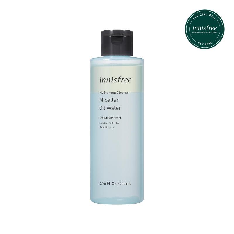 Nước tẩy trang và làm sạch da innisfree My Makeup Cleanser Micellar Oil Water 200ml cao cấp