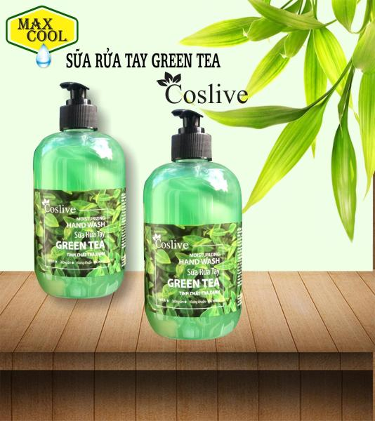 Sữa rửa tay tinh chất trà xanh (Coslive Moisturizing Hand Wash) 500ml