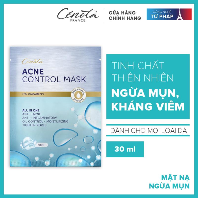 Mặt nạ ngừa mụn, dưỡng da Cenota Acne Control Mask 30ml giá rẻ