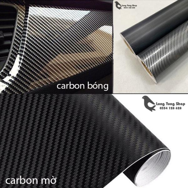 [HCM]Decal carbon dán xe - đề can cac bon có sẵn keo