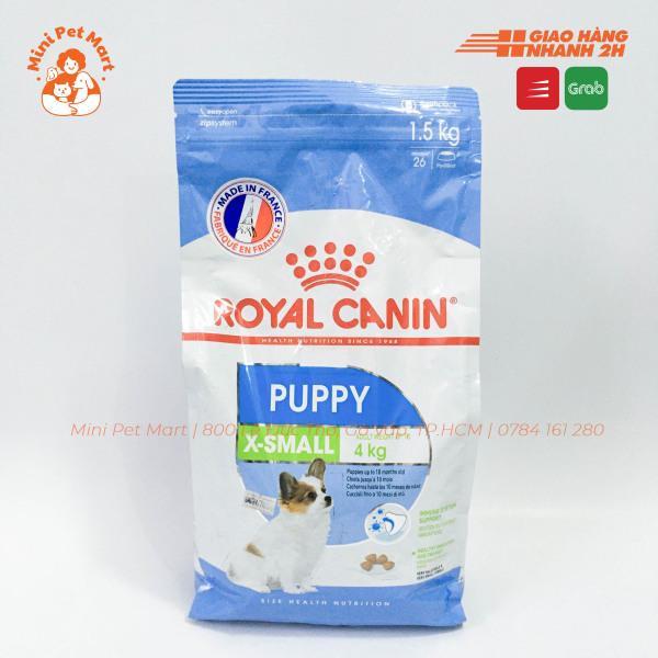[1,5kg] Thức ăn hạt cho chó con giống siêu nhỏ ROYAL CANIN