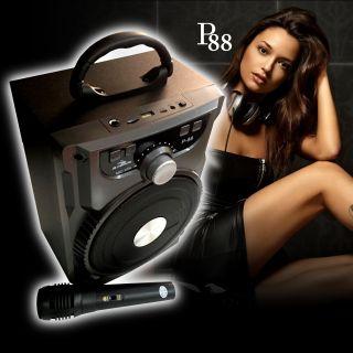 [HCM]Loa KIOMIC P88 P89 công suất 20W hỗ trợ chức năng nghe nhạc MP3 kết nối bluetooth - Tặng Mic có dây thumbnail