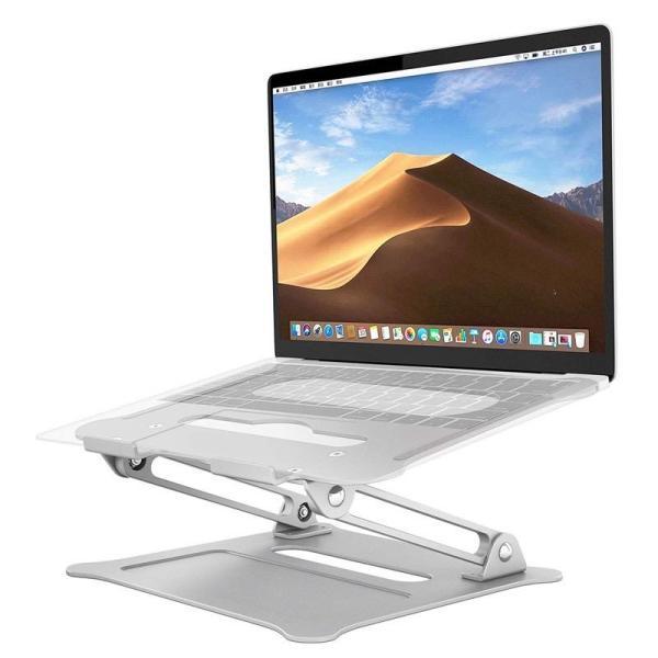 Bảng giá Giá đỡ laptop high stand bằng nhôm, đế tản nhiệt Macbook máy tính bảng Ipad có thể điều chỉnh góc nghiêng độ cao Phong Vũ