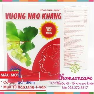 Vương Não Khang giúp tăng cường trí tuệ - giúp trẻ phát triển trí tuệ - Hộp 30 gói Chính hãng. thumbnail