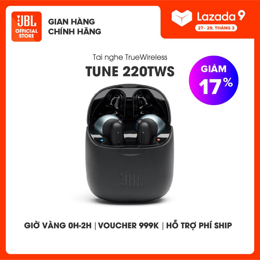 [VOUCHER 7%] Tai nghe True Wireless JBL TUNE 220TWS - Hàng chính hãng