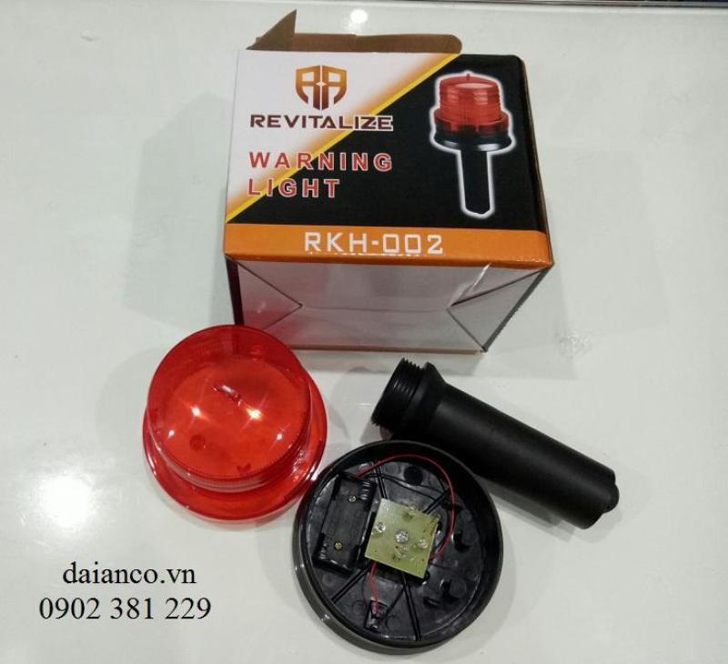 Bảng giá Đèn cảnh báo công trình dùng pin chớp nháy RKH-002