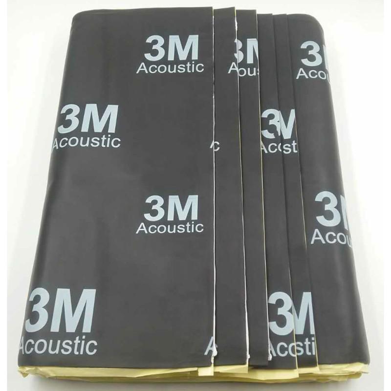 [3M Đen] Tấm cách âm 3M™ ACOUSTIC 3 lớp