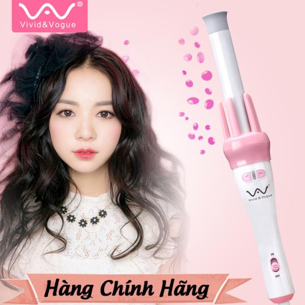 Máy uốn tóc mini gợn sóng cao cấp Vivid & Vogue, may uon toc xoăn, dụng cụ làm tóc- bảo hành 1 năm giá rẻ
