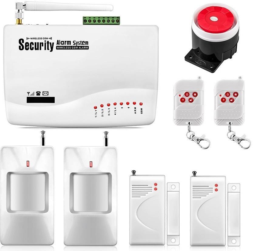 Thiết Bị Chống Trộm Amos GSM-3500 + Tặng 1 Đầu Dò Hồng Ngoại + 1 Bộ Kiểm Soát Mở Cửa