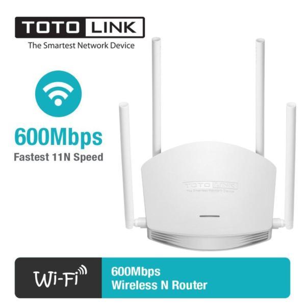 Bảng giá Bộ phát Wifi Totolink N600R 600Mbps (Trắng) - Hãng Phân Phối Chính Thức Phong Vũ
