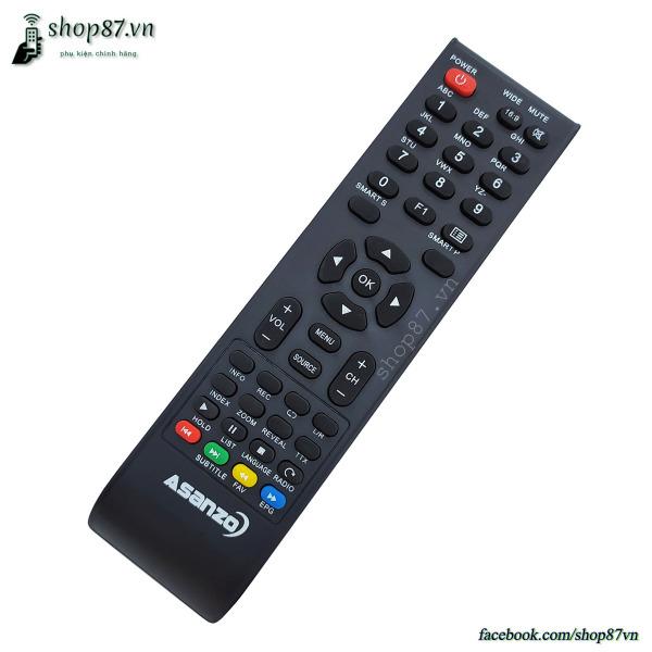 Bảng giá Điều khiển tv Asanzo mẫu 6 - Remote tv Asanzo