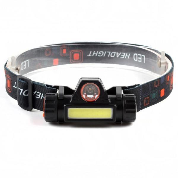 (Đèn loại tốt) Đèn pin siêu sáng - Đèn pin led đội đầu B6 3 chế độ sáng kim 2 bóng led , loại pin sạc. hoàn tiền nếu như sản phẩm kém chất lượng