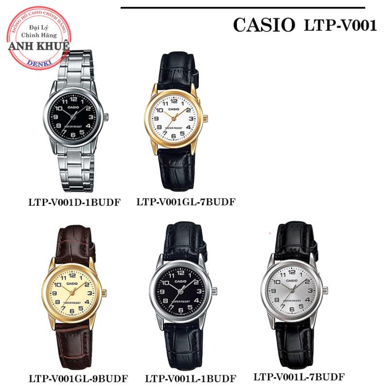 [STANDARD] Đồng hồ nữ dây da, dây kim loại Casio chính hãng Anh Khuê LTP-V001 ĐA DẠNG MẪU MÃ