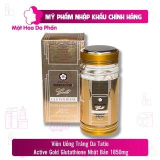 Viên uống trắng da Tatio Active Gold Glutathione 60 Viên thumbnail
