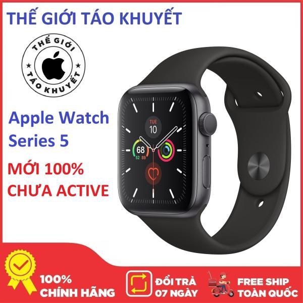 Đồng hồ Apple Watch Series 5 NHÔM - GSP - 40mm - Dây cao su - Nguyên SEAL Mới 100% - Bảo hành 12 tháng - Thế Giới Táo Khuyết