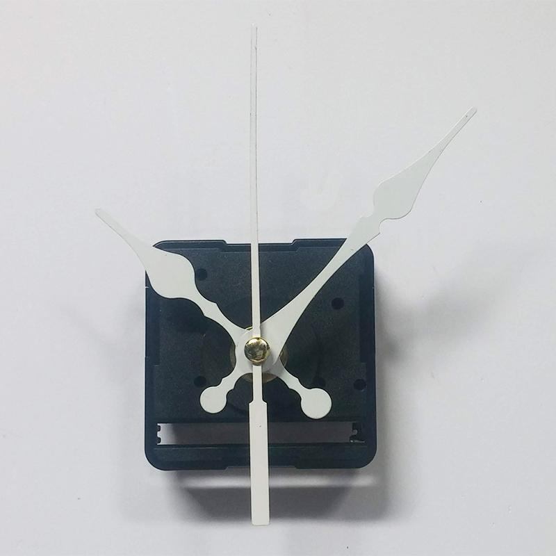 Nơi bán Bộ kim trắng 8cm và Máy đồng hồ treo tường Taiwan loại tốt - Kim trôi trục 5mm