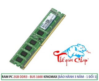 RAM PC 2GB DDR3 - BUS 1600 KINGMAX (BẢO HÀNH 3 NĂM - 1 ĐỔI 1) thumbnail