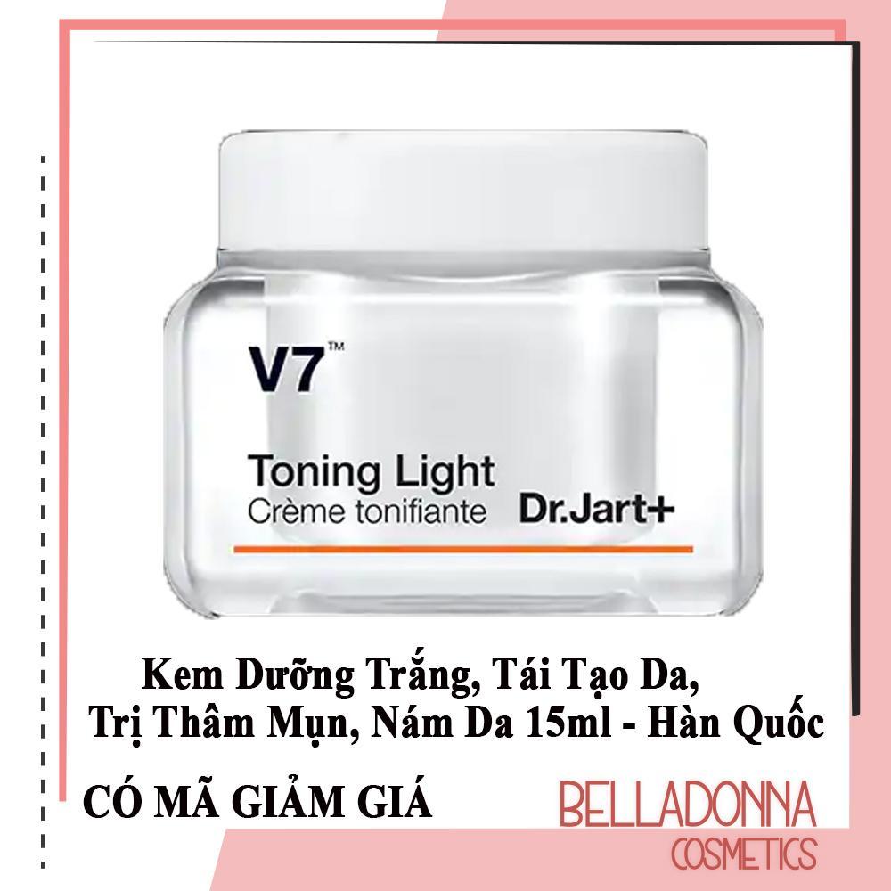 [New 2019] Kem Dưỡng Trắng, Tái Tạo Da, Trị Thâm Mụn, Nám Da Dr.Jart+ V7 Toning Light 15ml cao cấp
