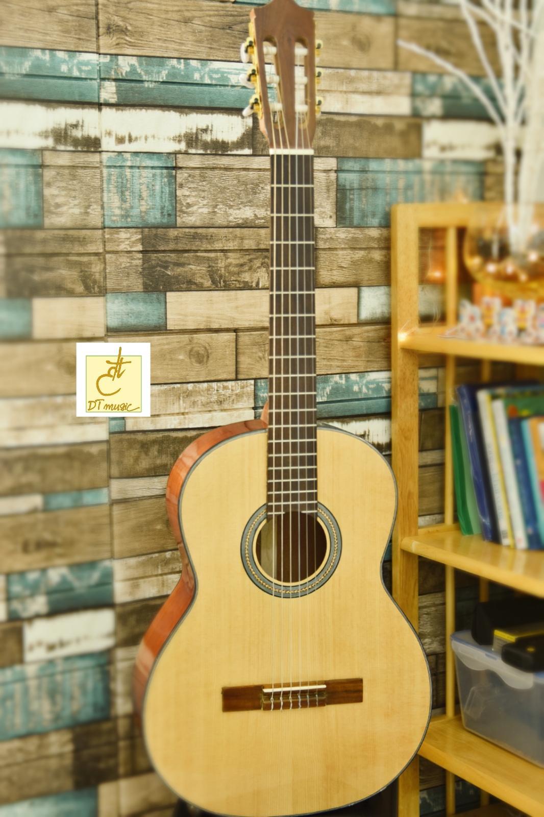 Đàn Guitar Classic  Gỗ Hồng Đào  DT-C16  Tặng Kèm Phụ Kiện Giá Ưu Đãi Nhất