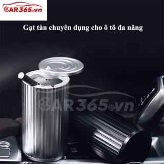 Gạt tàn chuyên dụng cho ô tô, xe hơi chất liệu sang trọng, không gỉ, Thiết kế tinh tế và sáng tạo - Gạt tàn ô tô xe hơi đa năng, có nắp đậy tiện lợi - CAR13 thumbnail