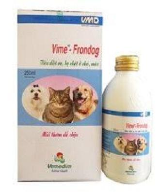 Thuốc Xịt Ve, Rận VIME-FRONDOG Dành Cho Chó, Mèo Giảm Giá Khủng