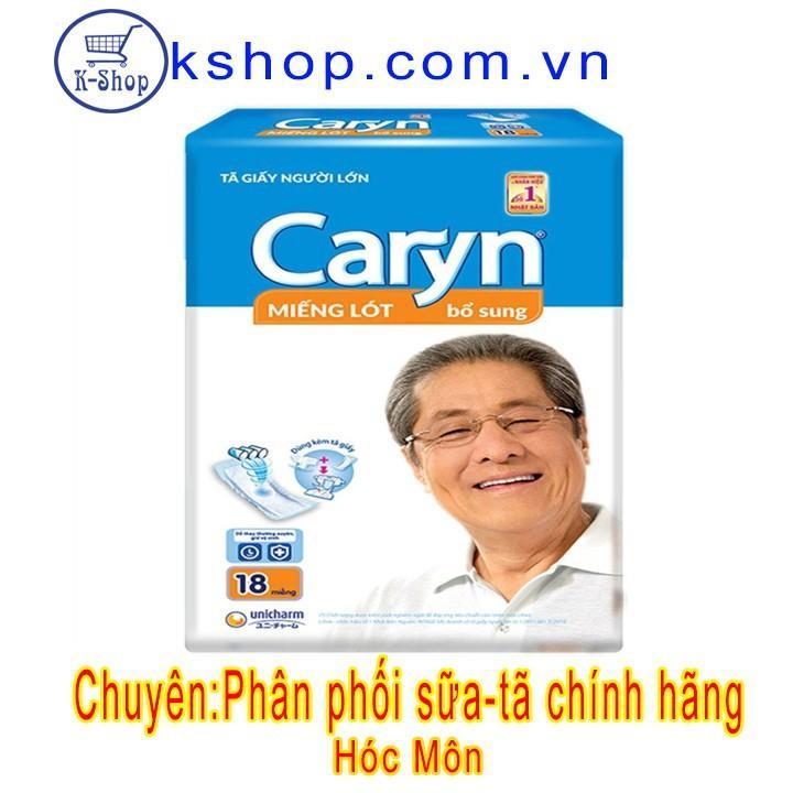 Miếng lót bổ sung Caryn 18 miếng nhập khẩu
