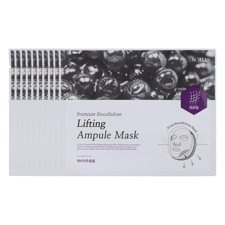 Combo 10 Mặt Nạ Lụa Sinh Học Cao Cấp Bio Premium Cellulose Lifting Ampule ( Nuôi dưỡng da và Nâng Cơ Mặt ) tốt nhất