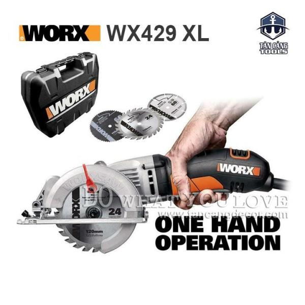 Máy Cắt Cầm Tay Đa Năng WORX WX429 XL 400W 120MM
