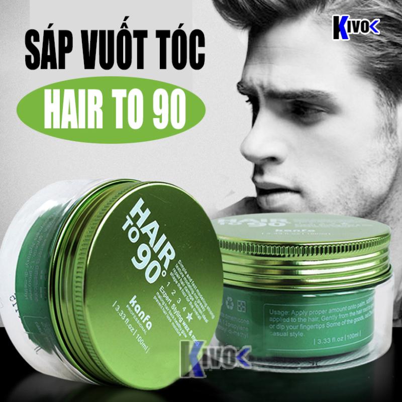 Sáp Vuốt Tóc Nam Kanfa Hair to 90 - Wax Vuốt Tạo Kiểu Tóc / Tạo Độ Phồng / Giữ Nếp Tóc - Kivo giá rẻ