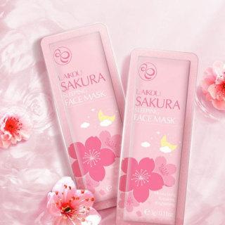 [Mini] Mặt Nạ Ngủ Sakura LAIKOU Hoa Anh Đào - 1 gói nhỏ thumbnail