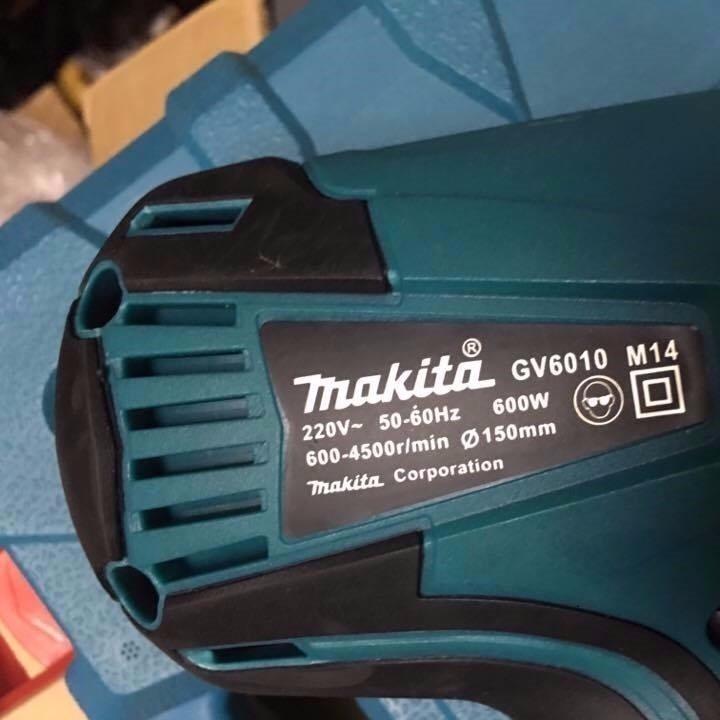 Máy đánh bóng Makita GV6010 600W, máy chà nhám đĩa makita - máy đánh bóng xe hơi, máy đánh bóng xe máy