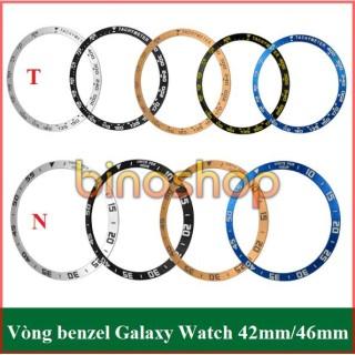 [Skin nhôm] Vòng benzel cho đồng hồ thông minh Samsung Galaxy watch thumbnail