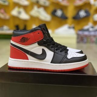 Giày Jordan 1 freeship Retro Hight, Giày thể thao JD1 Đen Đỏ Cao Cổ Nam Nữ Cao Cấp Full Box Bill thumbnail
