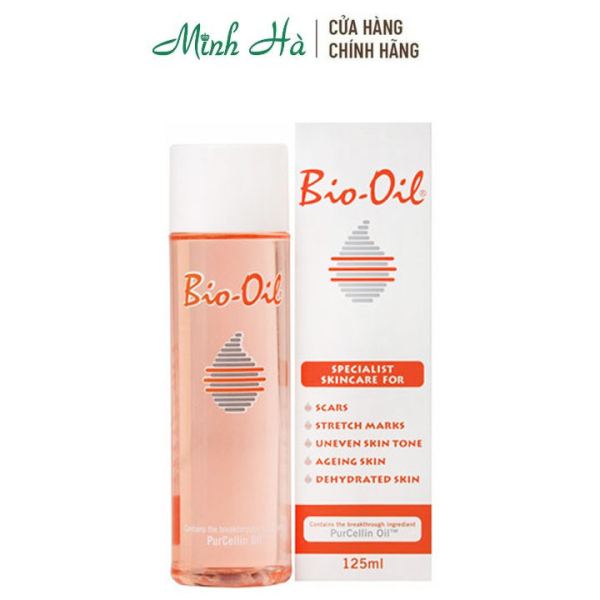 Tinh dầu Bio-Oil 125ml giúp làm mờ sẹo và giảm thâm nám rạn da giá rẻ