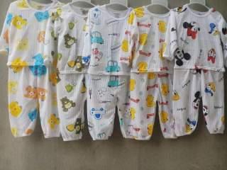 [HCM]5 bộ cotton giấy dài tay chất mềm mại thoáng mát cho bé yêu thumbnail