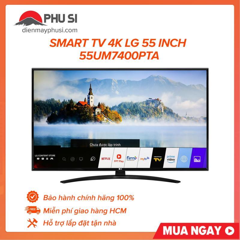 Bảng giá Smart TV 4K LG 55 inch 55UM7400PTA