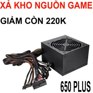 [Xả kho] Nguồn máy tính công xuất thực 650 plus chuyên game có nguồn phụ gắn card màn hình thumbnail