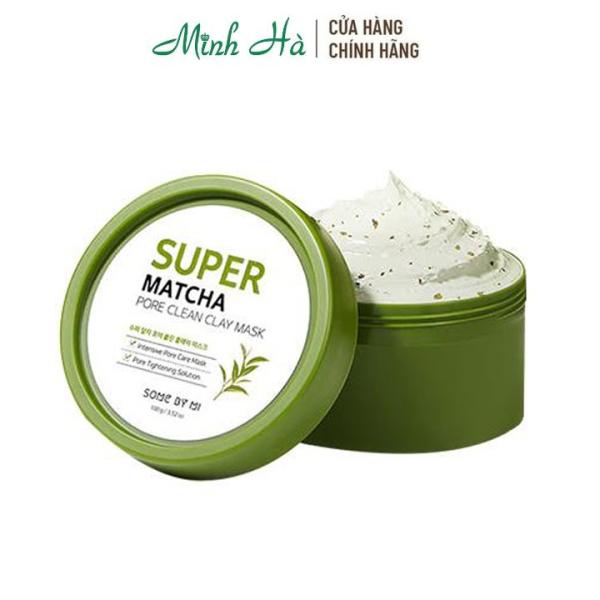 Mặt đất sét trà xanh Some By Mi Super Matcha Pore Clean Clay Mask 100g