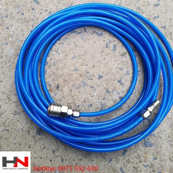 Combo 10m dây hơi 8mm có khớp nối cao cấp
