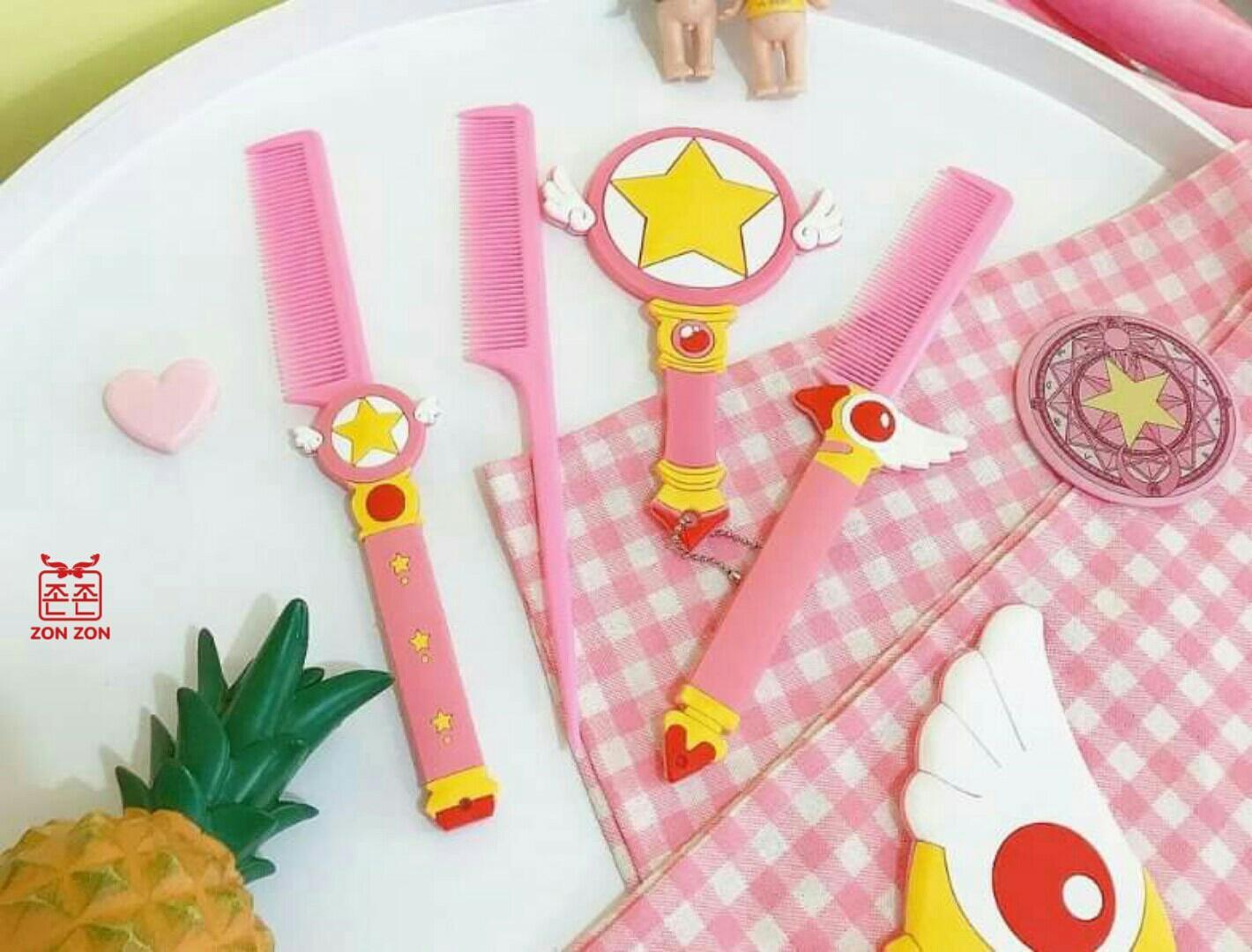 Lược Nhựa Sakura sets 2 SP002442 chính hãng