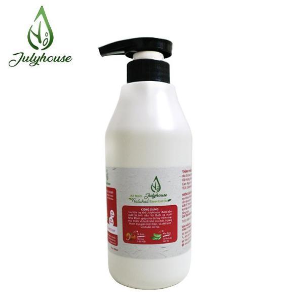 [Mùi tự chọn] Gel rửa tay khô Bưởi Chùm/Cam Ngọt - Nha Đam 500ml JULYHOUSE