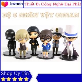 Mô Hình Để Bàn FREE SHIP Mô Hình 6 Nhân Vật Conan - Kaito Kid - Magic Kaito - Siêu đạo chích Kid Chibi Trang Trí thumbnail