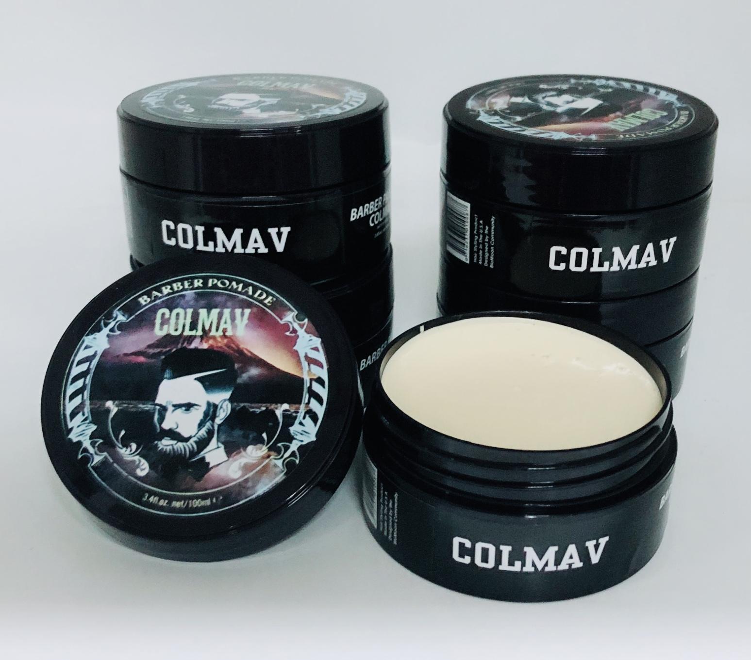 Sáp Vuốt Tóc Nam wax tóc nam Colmav Barber Pomade 100ml