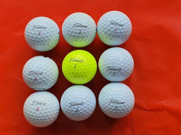 Combo 9 quả Bóng Golf Titleist Pro V1. Chính Hãng Chất Lượng Cao
