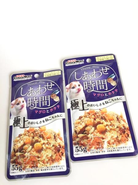 Súp Thưởng Cho Mèo Từ Nhật Bản Cá Thu Và Sò Điệp 55G, 100% thành phần tự nhiên, không chứa mùi nhân tạo – Xudapet - SP000637