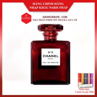Nước hoa Chanel N5 đỏ EDP 100ml thumbnail