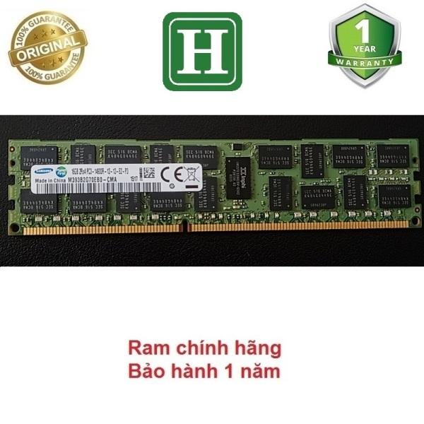 Bảng giá Ram Server DDR3 16GB ECC REG bus 1866  tháo máy chính hãng bảo hành 1 năm Phong Vũ