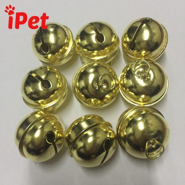 Lục Lạc Inox Mạ Vàng- iPet Shop