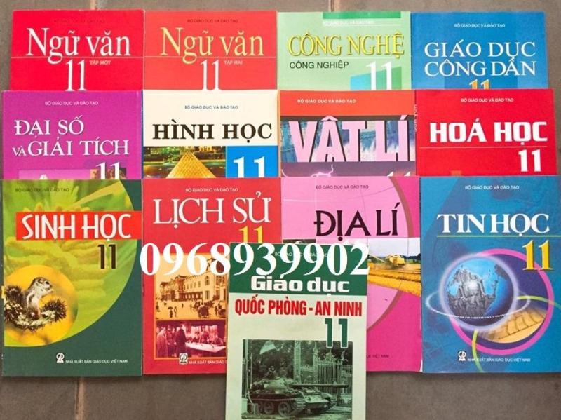 Mua Bộ sách giáo khoa lớp 11 (gồm 13q)
