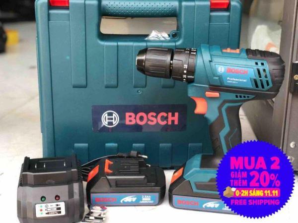 Khoan pin BOSH 36V có búa đầu 13ly
